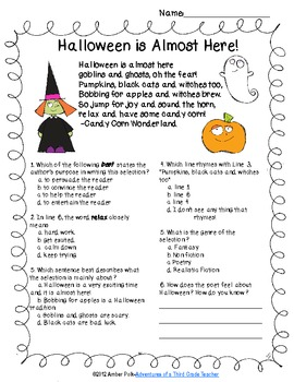 Halloween Is Here! {FREEBIE}