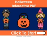 Halloween Items Distance Learning Interactive PDFs