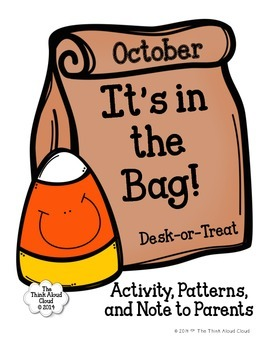 Halloween ~ It's in the Bag! {Free Desk-or-Treat Activity}