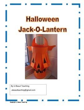 Halloween Jack-O-Lantern Craft