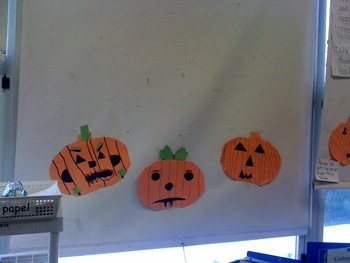Halloween Jack O' Lantern Glyph