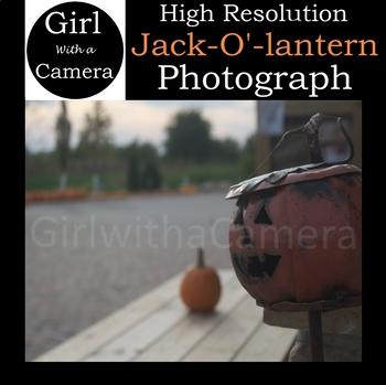 Halloween Jack-O'-Lantern Stock Photograph FREE!
