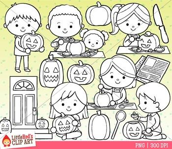Halloween Jack-o-Lantern Clipart