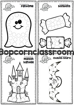 Halloween - Je tamponne - Do-a-dot