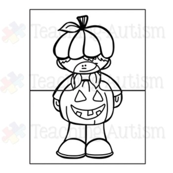 Halloween Activities - Jigsaw Puzzles