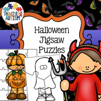Halloween Activities - Jigsaw Puzzles