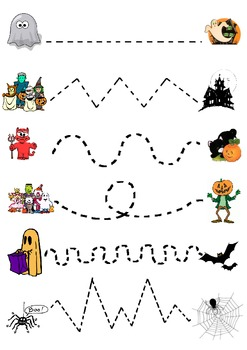 Halloween Join the dots Worksheet