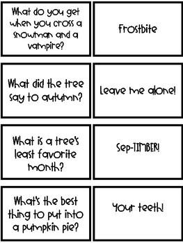 Halloween Joke Match-Up