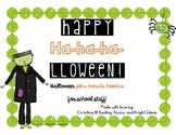 Halloween Joke Match-Up Morale and Community Building for Staff or Students