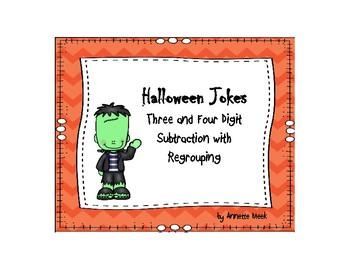 Halloween Joke Subtraction
