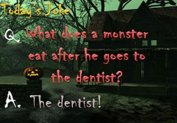 Halloween Joke of the Day!