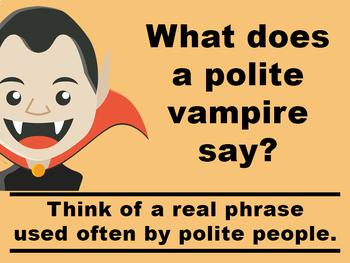 Halloween Jokes PowerPoint by The Brighter Rewriter | TpT