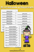 Writing Prompts For Halloween: 25 Cut-And-Paste Writing Prompts