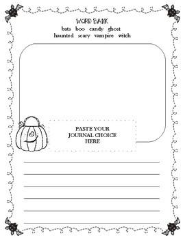 Halloween Journal Prompt