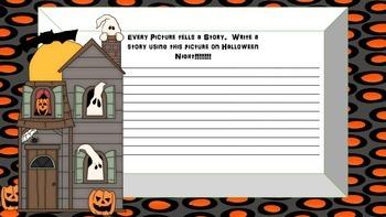 Halloween Journal Prompt Booklet