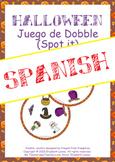 Halloween Juego de Dobble (Spot it) en español: game & fla