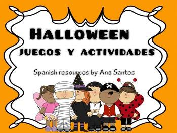 Halloween Juegos y actividades - ELE
