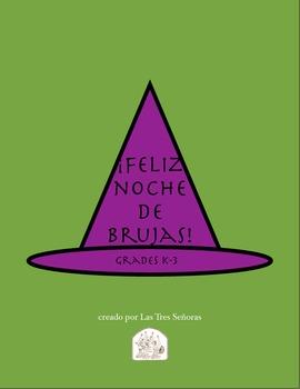 Halloween K-3 Spanish Activities/ Noche de brujas