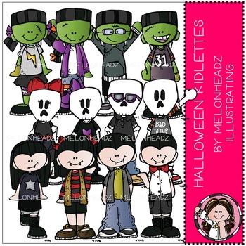 Halloween clip art - Kidlettes - by Melonheadz