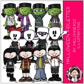 Melonheadz: Halloween clip art - Kidlettes - COMBO PACK