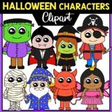 Halloween Kids Characters Clipart