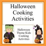 Halloween Kids Cooking Activities