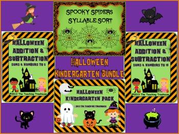 Halloween Kindergarten Bundle
