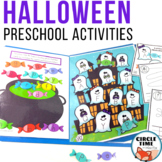 Halloween Letter Matching Centers