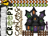 Halloween Kindergarten Creepy Math and Literacy Centers