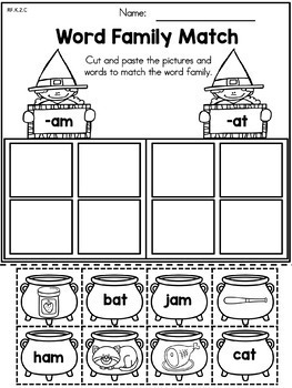 Halloween Kindergarten Language Arts Worksheets by United ...