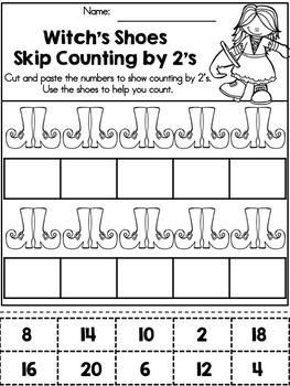 Halloween Activities No Prep Bundle (Kindergarten)