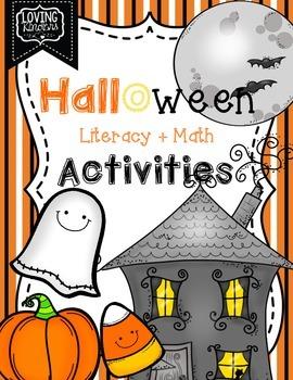 Halloween, Literacy & Math Activities