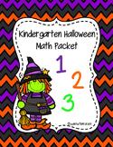 Halloween Kindergarten Math Packet Bundle!