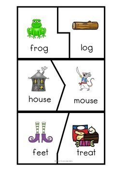 Halloween Kindergarten Math and Literacy Centers and Worksheets