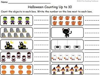 Halloween Kindergarten Pack