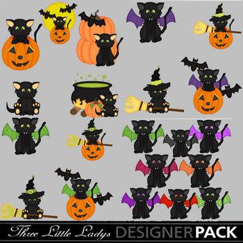 Halloween Kitties- Bundle
