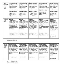 Halloween LG/SG Lesson Plan - Aligns with GA PreK