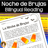 Halloween Spanish (La Noche de Brujas) Bilingual Reading