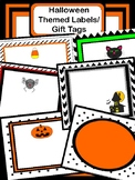 Halloween Labels/ Gift Tags