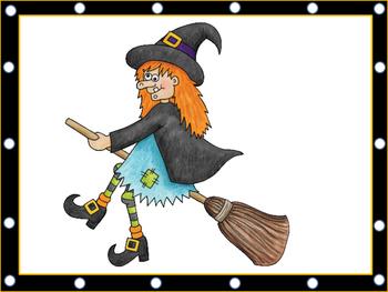 Halloween Lacing Cards