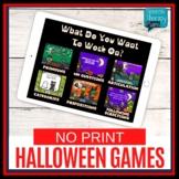 No Print Halloween Language & Articulation Activities