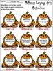 Halloween Language Arts Activity Packet