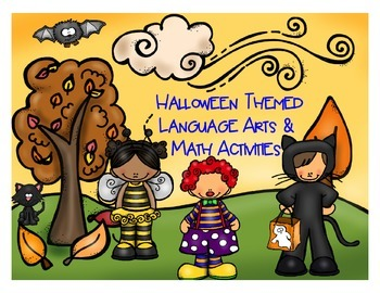 Halloween-Language Arts and Math Activities Flipchart