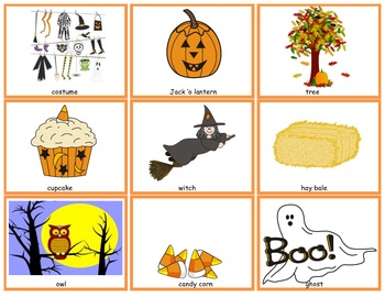 Halloween Language: Attributes and Descriptions