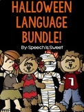 Halloween Language Bundle for Speech Therapy