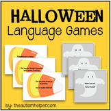 Halloween Language Games: Real or Make-Believe & Fact or Fiction