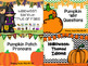 Halloween Language Activity Bundle for Speech Therapy