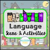 Halloween Language Scene Speech Therapy