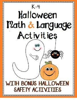 Halloween Language and Math Activities for K-4