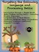 Halloween Language and Processing Activities Grades 3rd-7th
